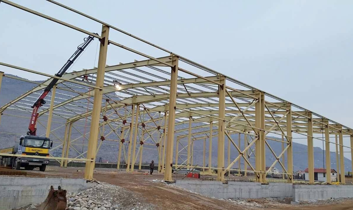 Konstruksione Industriale - Kapanon Durres